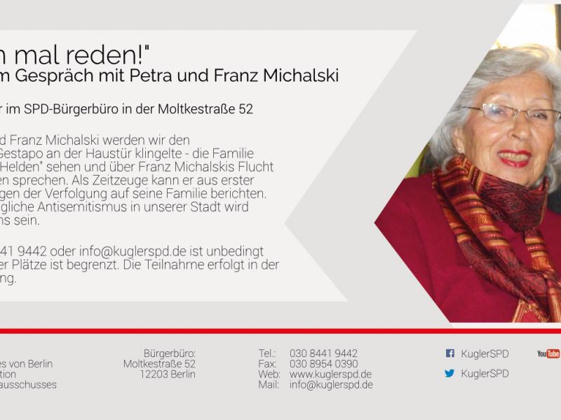 """""""Wir müssen mal reden!"""" mit Franz und Petra Michalski"""