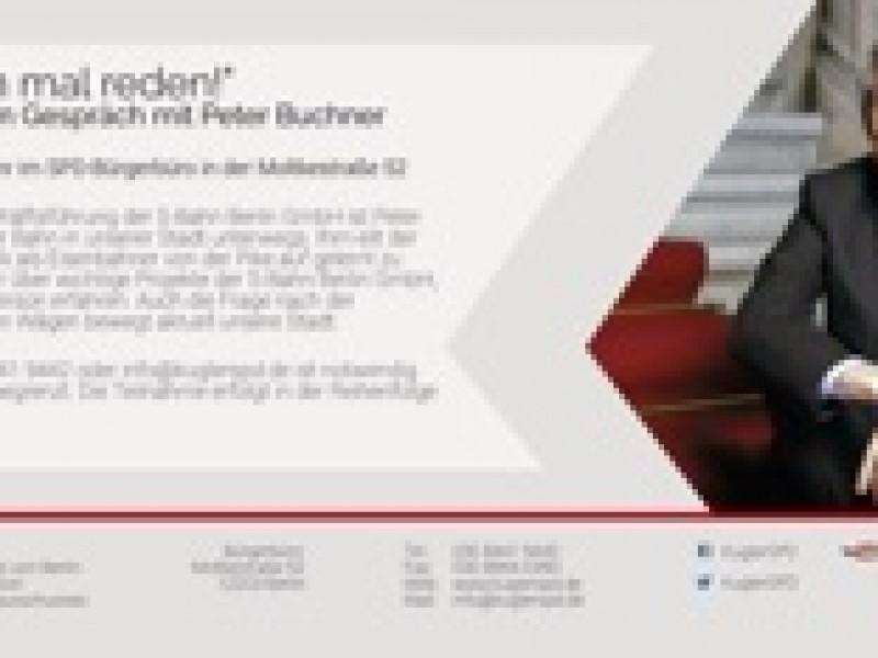 """""""Wir müssen mal reden!"""" mit S-Bahn-Chef Peter Buchner"""